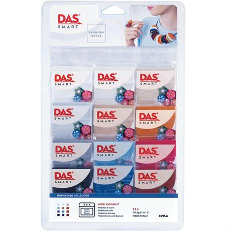 DAS Smart Modelling Clay Warm & Cool Set Image 1