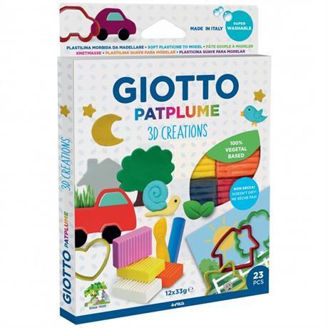 Giotto Patplume 3D Plasticine Creations Set Image 1