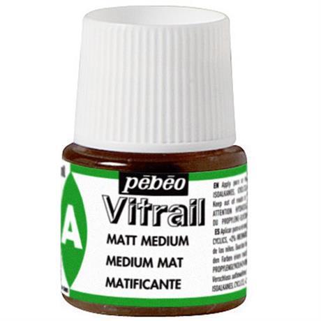 Pebeo Vitrail 45ml Matt Medium Image 1