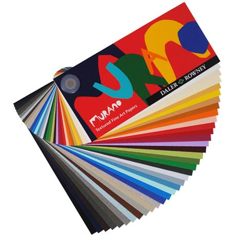 Daler Rowney Murano Paper 50 x 65cm Sheets - 160gsm Image 1