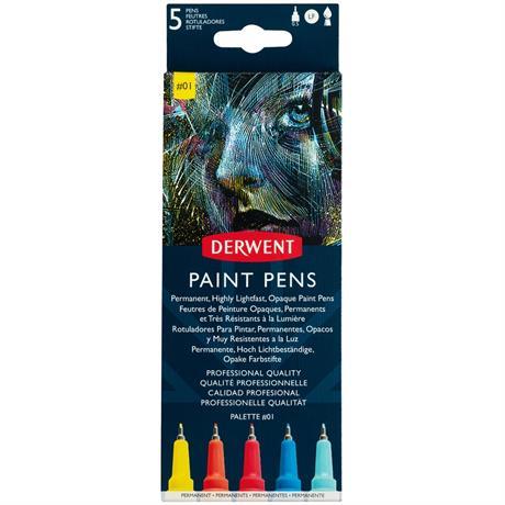 Derwent Paint Pen Palette #1 Image 1