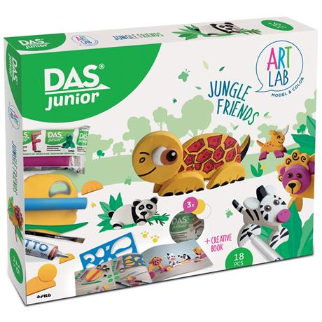 DAS Junior Art Lab Jungle Friends Image 1