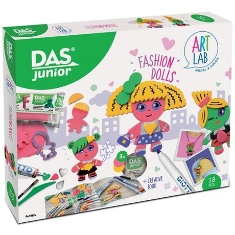 DAS Junior Art Lab Fashion Dolls Image 1