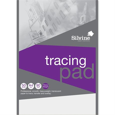 Silvine Professional Tracing Pads 90gsm Image 1