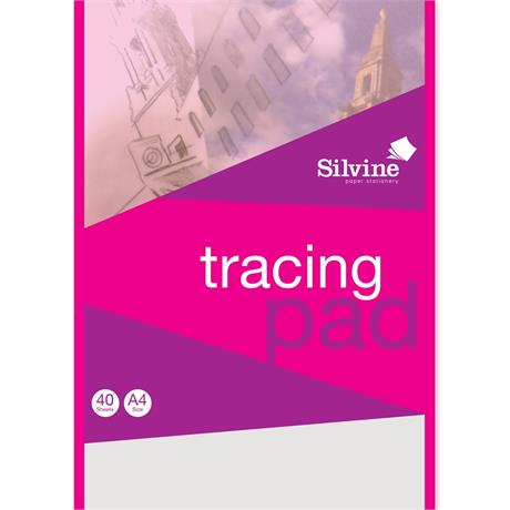 Silvine Tracing Pads 63gsm Image 1