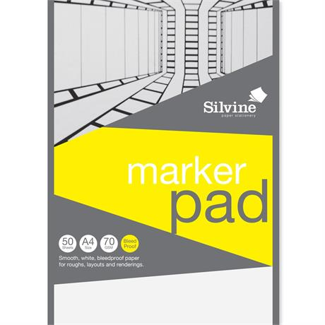 Silvine Professional Bleedproof Marker Pads 70gsm Image 1