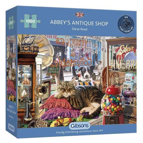 Abbey's Antique Shop 1000 Piece Jigsaw Puzzle Image 1