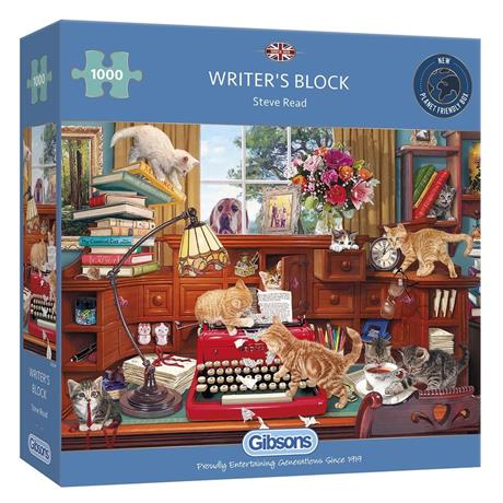Writer's Block 1000 Piece Jigsaw Puzzle Image 1
