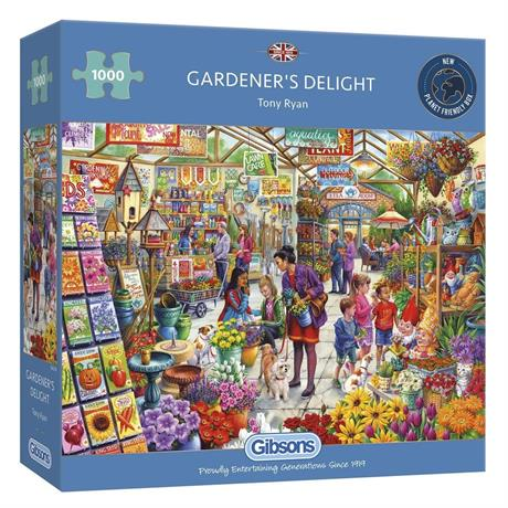 Gardener's Delight Jigsaw 1000pc Image 1
