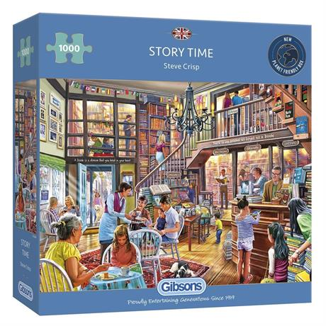 Story Time Jigsaw 1000pc Image 1