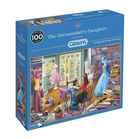 The Dressmaker's Daughter Jigsaw 1000pc Image 1
