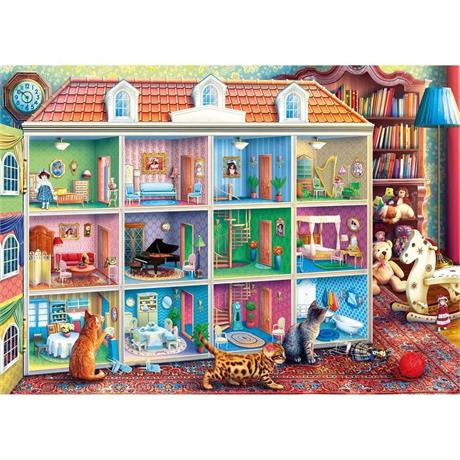 Curious Kittens Jigsaw 1000pc Image 1