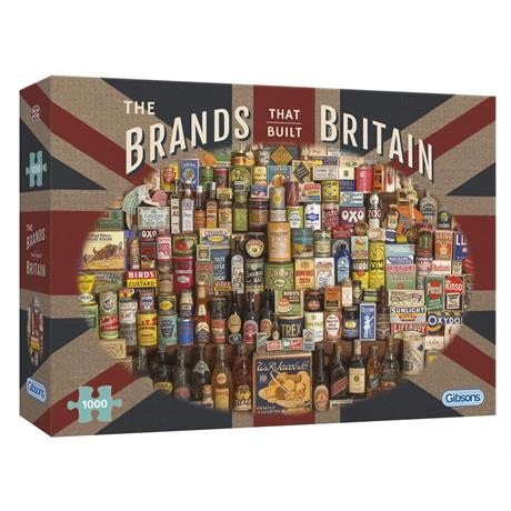 The Brands that Built Britain Jigsaw 1000 Pieces Image 1