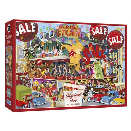 Lifting the Lid - Department Store Jigsaw 1000 Pieces Image 1