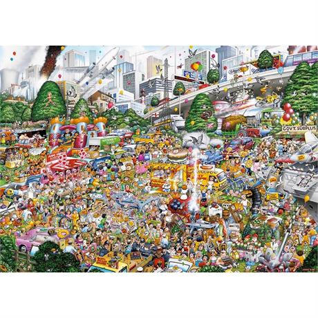 I Love Car Boot Sales Jigsaw 1000pc Image 1