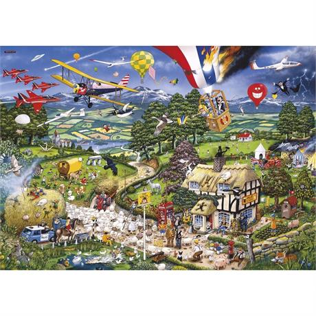 I Love the Country Jigsaw 1000pc Image 1