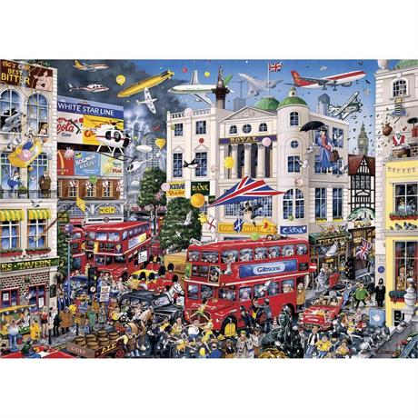 I Love London Jigsaw 1000pc Image 1