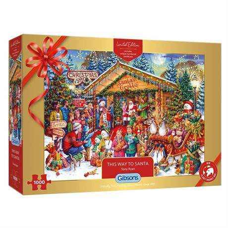 This Way To Santa Limited Edition 2020 Jigsaw 1000pc Image 1