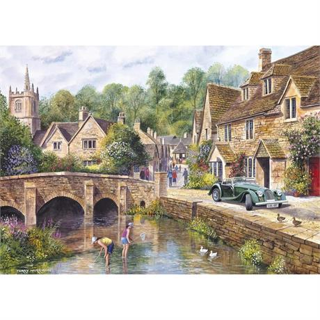 Castle Combe Jigsaw 1000pc Image 1