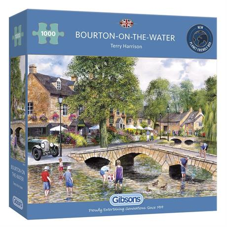 Bourton On Water Jigsaw 1000pc Image 1