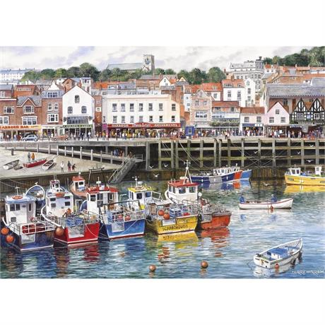 Scarborough Jigsaw 1000pc Image 1