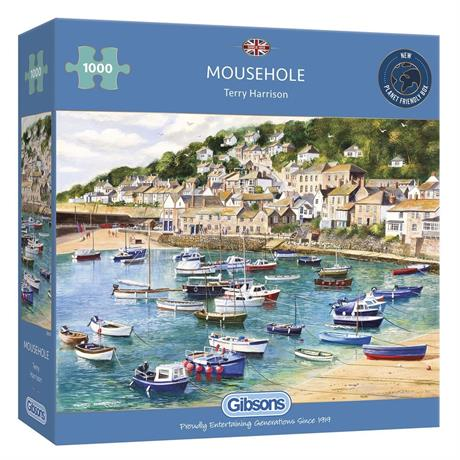Mousehole Jigsaw 1000pc Image 1