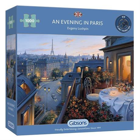 An Evening in Paris Jigsaw 1000pc Image 1
