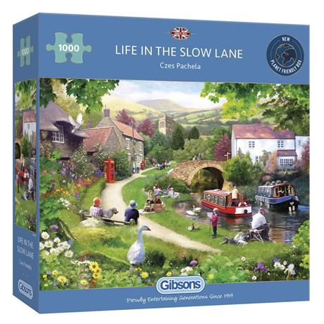 Life In The Slow Lane Jigsaw 1000pc Image 1