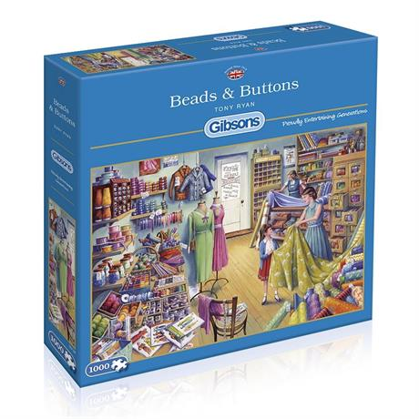 Beads & Buttons Jigsaw 1000pc Image 1
