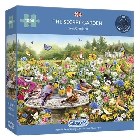 The Secret Garden Jigsaw 1000 pieces Image 1