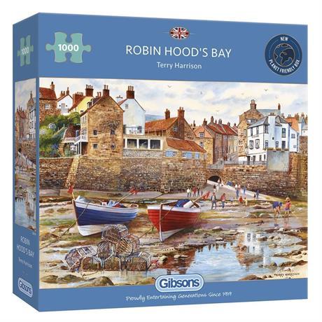 Robin Hood's Bay Jigsaw 1000 pieces Image 1