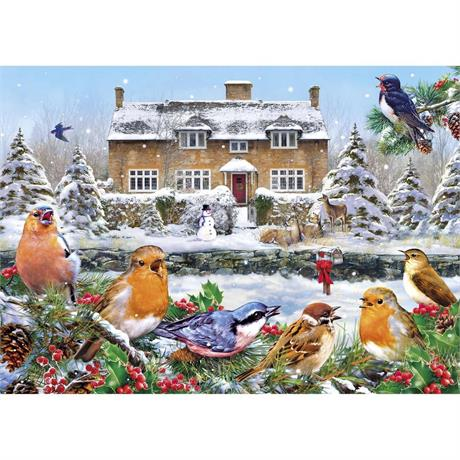 A Winter Song Jigsaw 1000pc Image 1