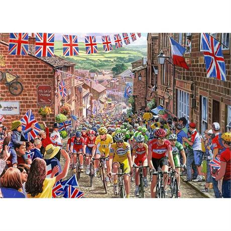 Le Tour de Yorkshire Jigsaw 1000pc Image 1