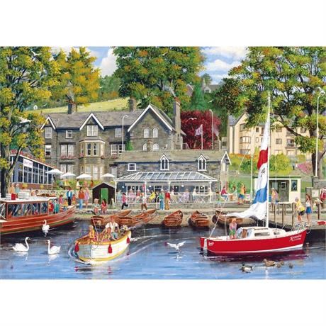 Summer in Ambleside Jigsaw 1000pc Image 1