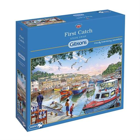 First Catch Jigsaw 1000pc Image 1