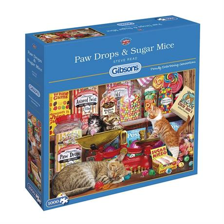 Paw Drops & Sugar Mice Jigsaw 1000pc Image 1