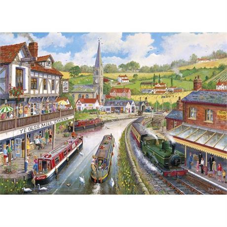 Ye Olde Mill Tavern Jigsaw 1000pc Image 1