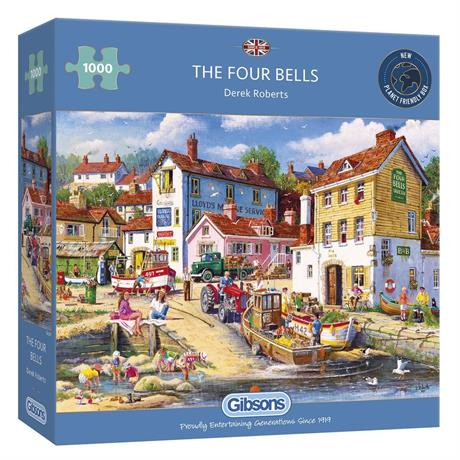 The Four Bells Jigsaw 1000pc Image 1