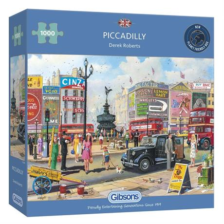 Piccadilly Jigsaw 1000pc Image 1