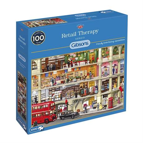 Retail Therapy Jigsaw 1000pc Image 1