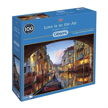 Love is in the Air Jigsaw 1000pc Image 1