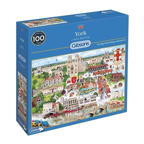 York Jigsaw 1000pc Image 1