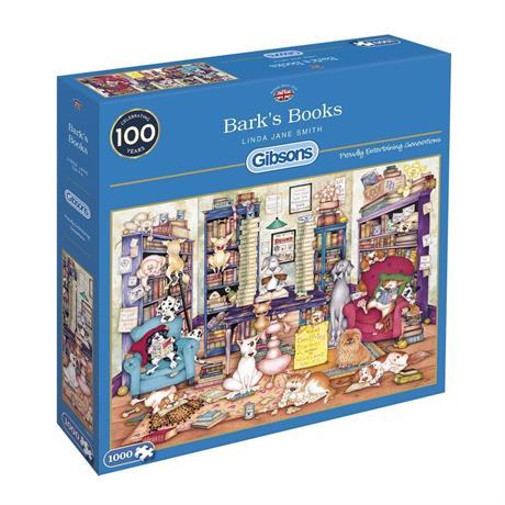 Bark's Books Jigsaw 1000pc Image 1
