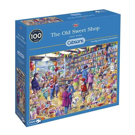 The Old Sweet Shop 1000 Piece Jigsaw Puzzle Image 1