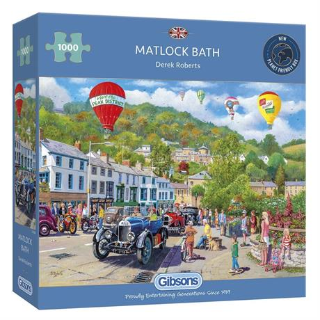 Matlock Bath Jigsaw 1000pc Image 1