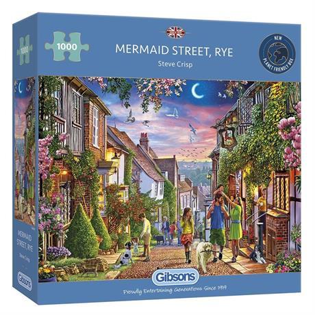Mermaid Street, Rye Jigsaw 1000pc Image 1