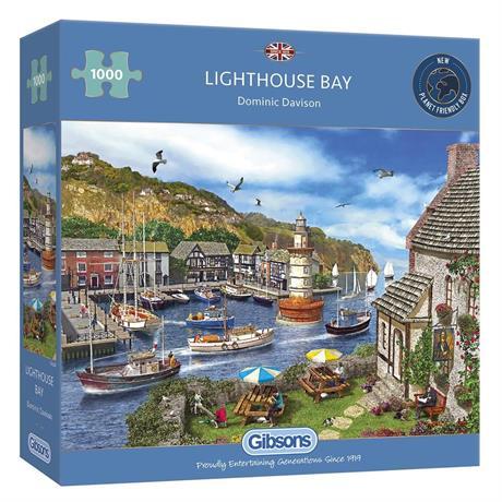 Lighthouse Bay Jigsaw 1000pc Image 1