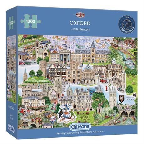 Oxford Jigsaw 1000pc Image 1