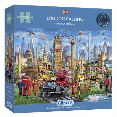 London Calling Jigsaw 1000pc Image 1
