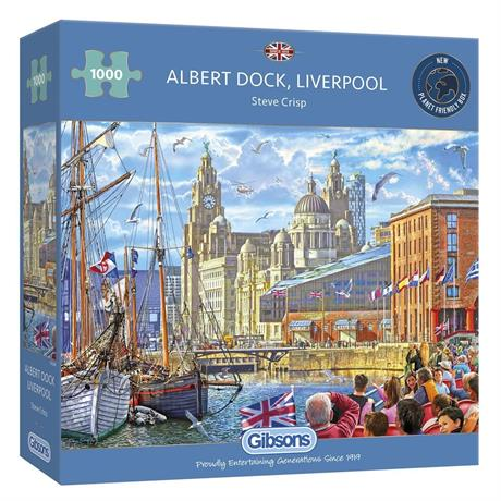 Albert Dock Liverpool Jigsaw 1000pc Image 1